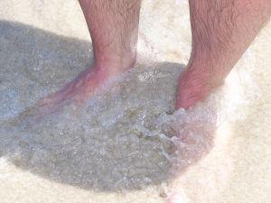 Méregtelenítő lábfürdő készülék